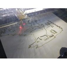 лазерная резка и гравировка фанеры