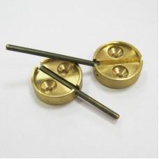 Опечатывающие устройства для дверей и сейфов (латунь)