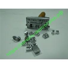 Штамп металлический (клеймо)